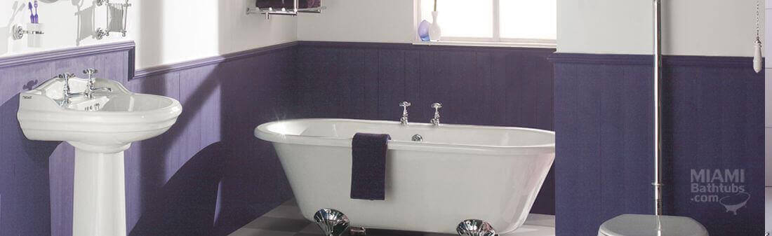 Bathroom Remodeling. Bathtub Reglazing