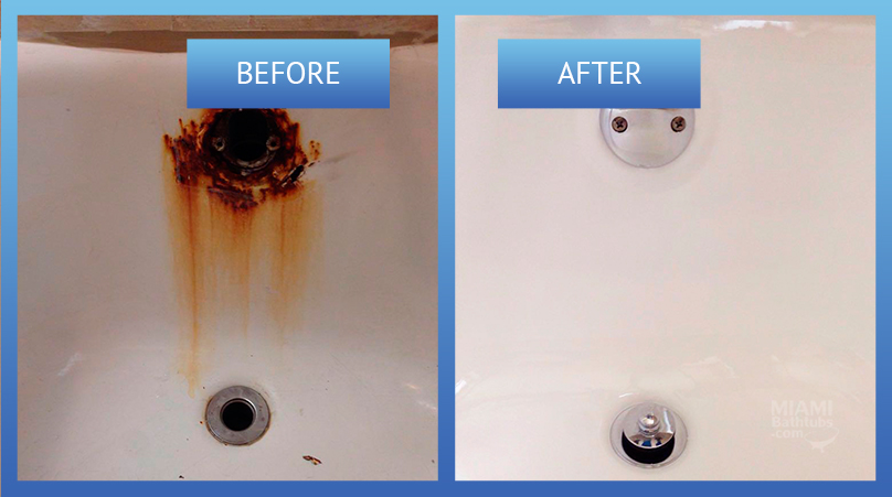 bathroom repair before and after