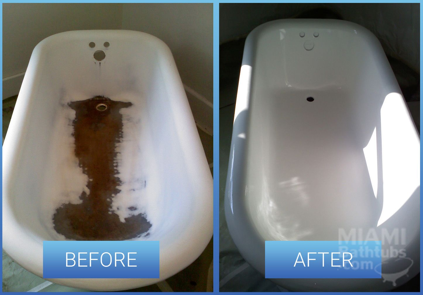 bathtub resurfacing before after 2