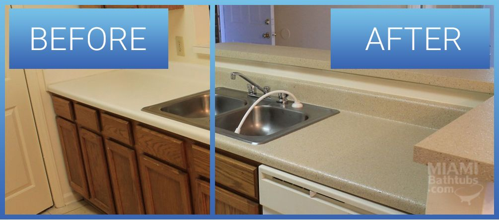 Countertop Refinishing Resurfacing Miami Bathtubs