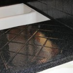 tiled kitchen countertop